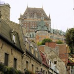 Een romantische dag in Quebec City