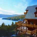 Bijzonder overnachten in Sacacomie Lodge